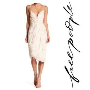 Free People Venus Draped Midi Dress